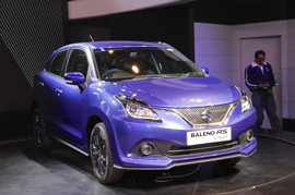 New Maruti Baleno to be rolled out from the Gujarat plant