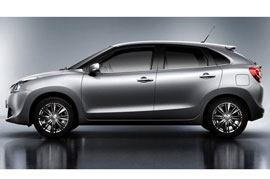 India bound Maruti Baleno reached Japan