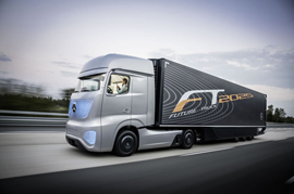 Mercedes lend their innovation in the Trucking Industry too