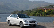 A new product by Mercedes Benz MY16 E class