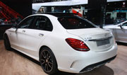 Mercedes C 450 AMG Sport on its way to India