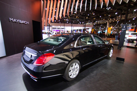 Mercedes Maybach S600 Guard rolling out March 8th