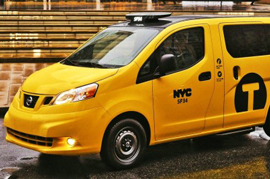 Nissan self drive car tests fine