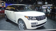 Range Rower LWB Autobiography Black Limited Edition for the Indian Roads
