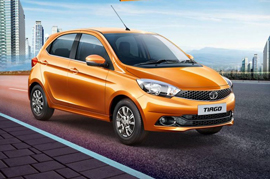 Tata Tiago Hatchback just around the corner