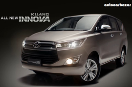 Closer look at the Toyota Innova before you get a glimpse of it at the Auto Expo 2016