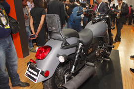 Some of the two-wheeled elegance at the Auto Expo 2016