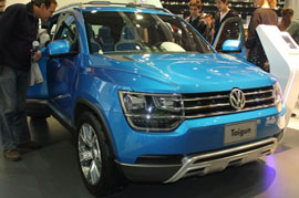 VW to bring the Tiguan SUV to the Indian market