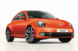 You get to book your VW Beetle now