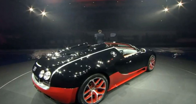 bugatti veyron 16 4 grand sport vitesse 2013 kyiv motor show. Black Bedroom Furniture Sets. Home Design Ideas