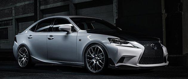 Toyota Lexus LF-NX Turbo