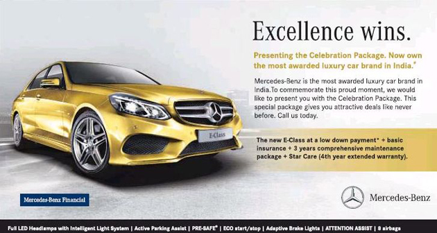 Mercedes benz excellence wins for Best extended warranty for mercedes benz