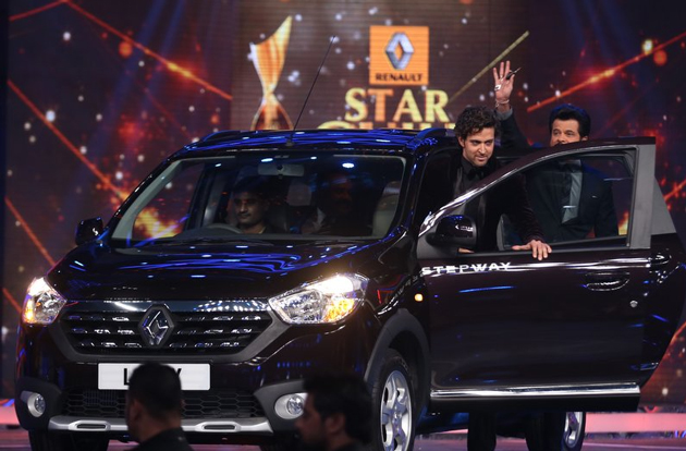 Renault Lodgy Stepway showcased in India for the first time