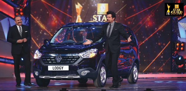 First reveal of Nre Renault Lodgy at the Renault Star Guide Awards