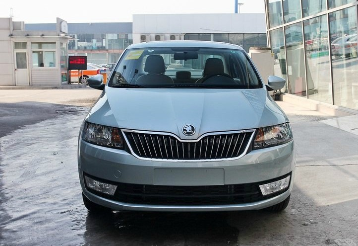 SKODA new compact sedan Xin Rui launched in 2013 Shanghai Auto Show
