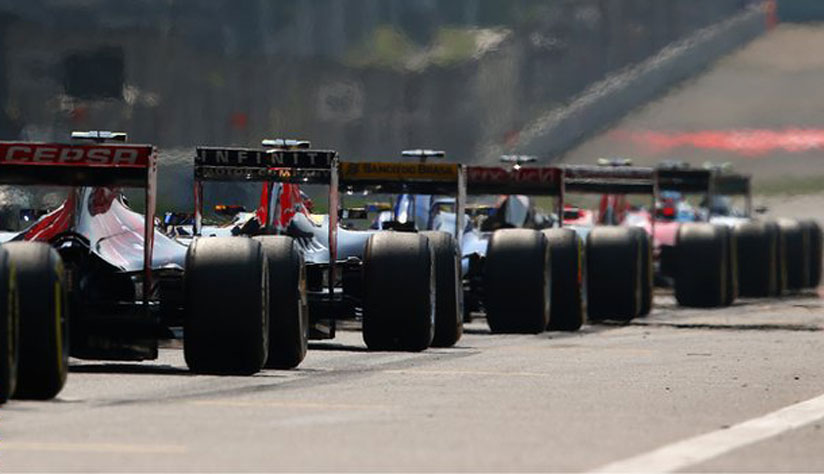 A new strategy for the race start Formula1