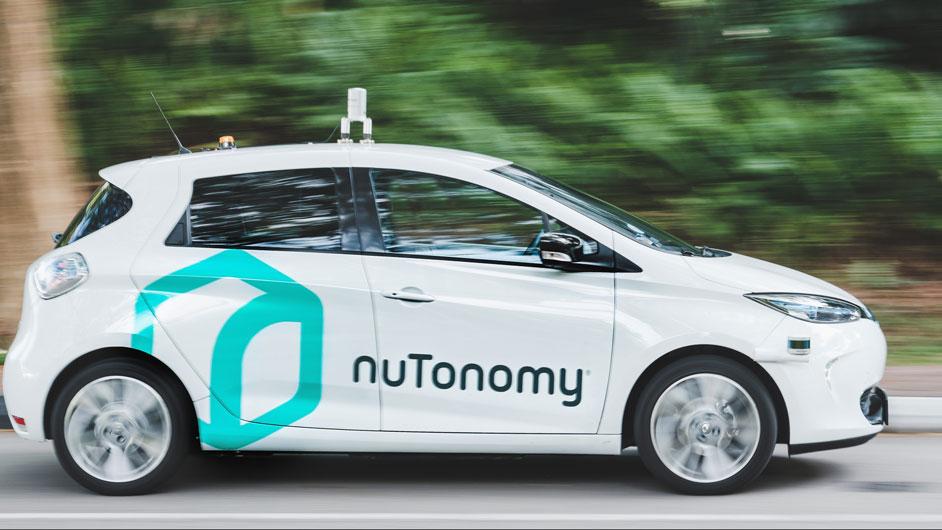 Nutonomy  driver less Car