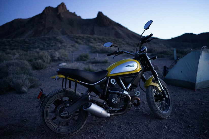Ducati Scrambler has already bookings for the new machine