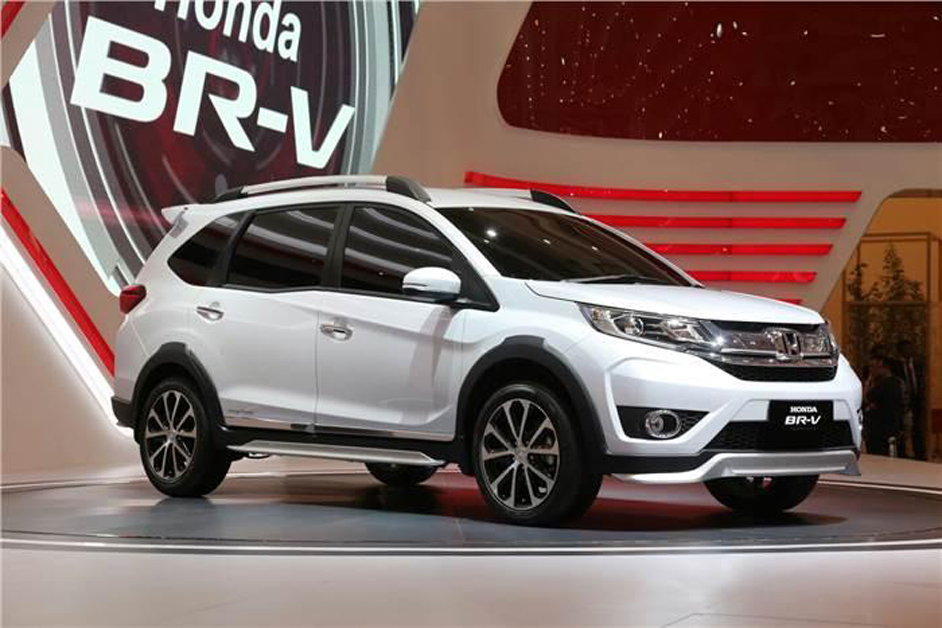 Honda BR-V on its official website detailing its launch soon