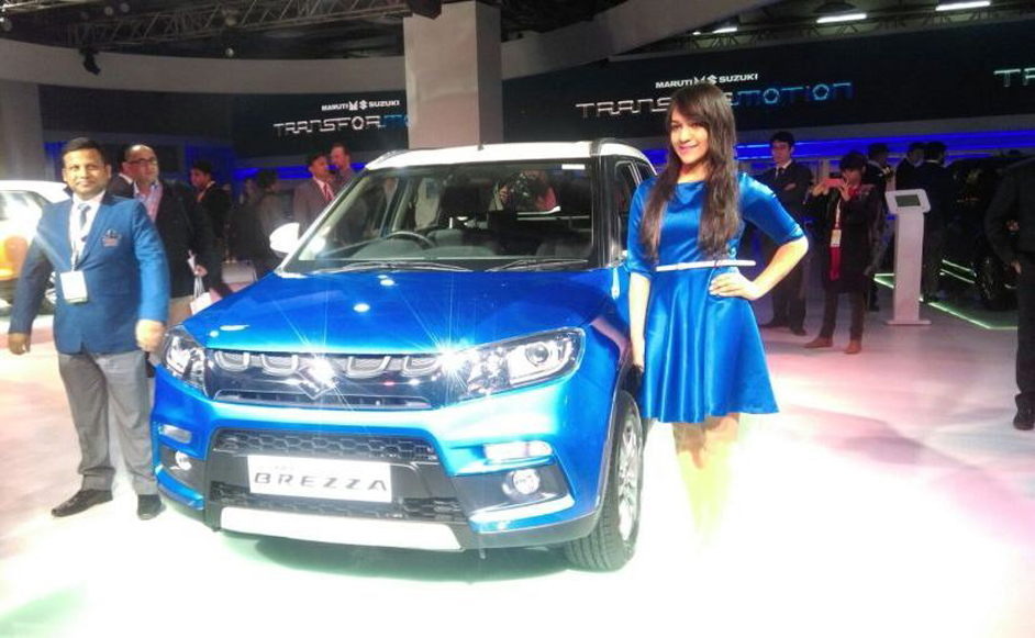 Maruti to roll out the Suzuki Vitara Brezza on 8th March in India