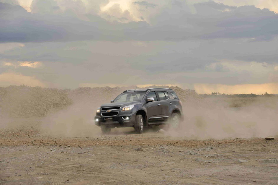 Chevrolet machines spied in Rajasthan