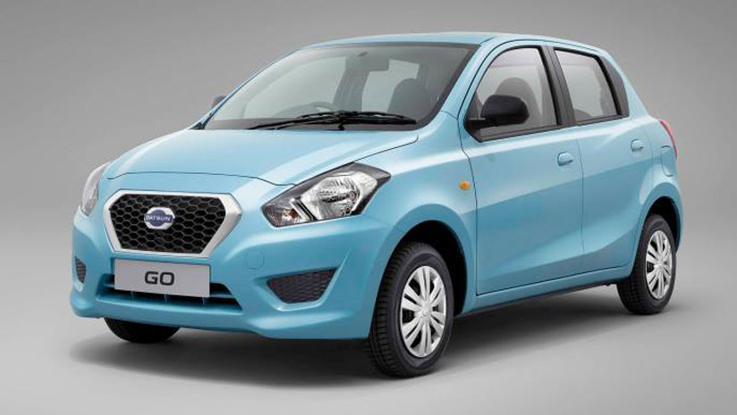 Now Datsun Go  with airbags making its way