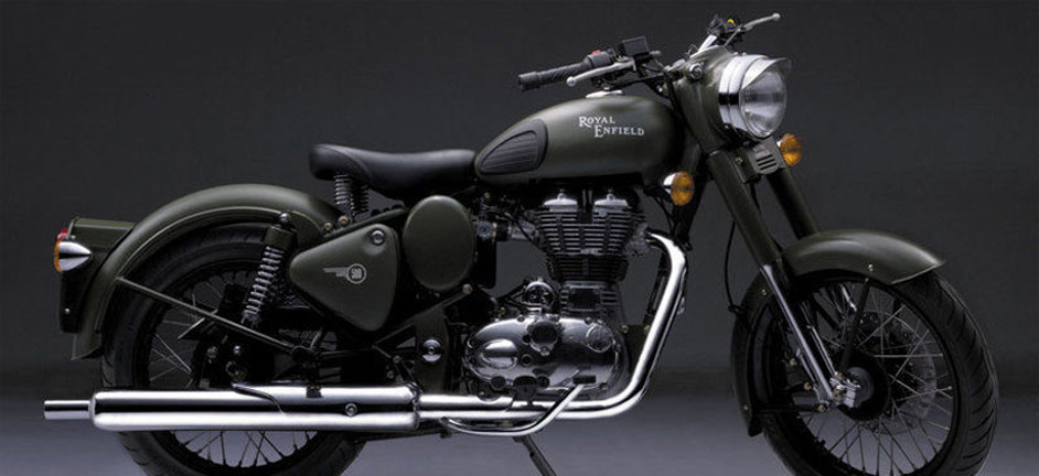 Royal Enfield is extremely busy