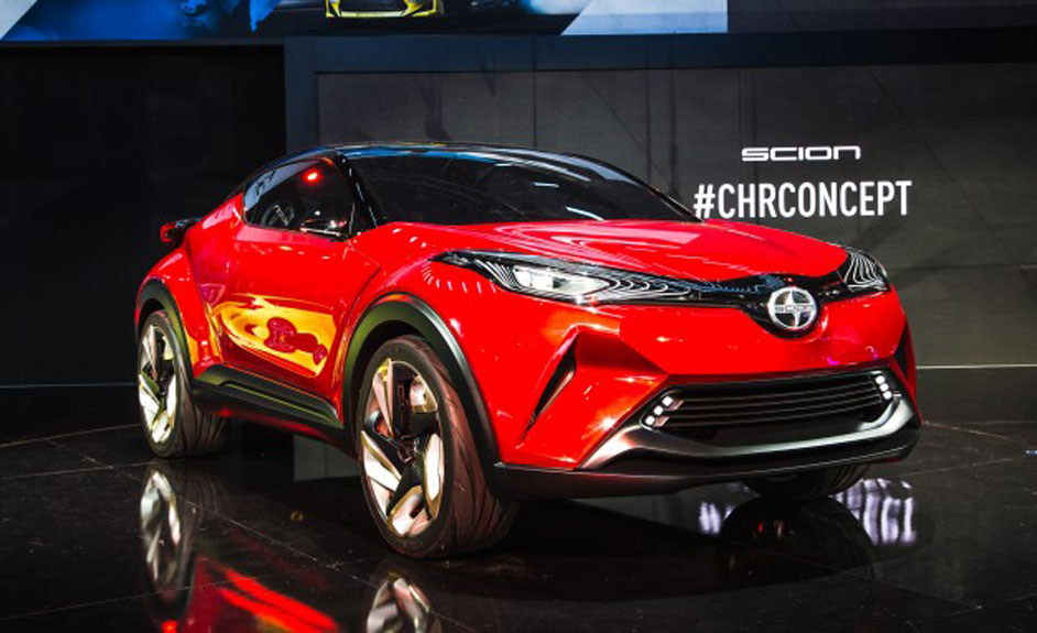 Section C-HR to make it big and loud at the Detroit Autoshow