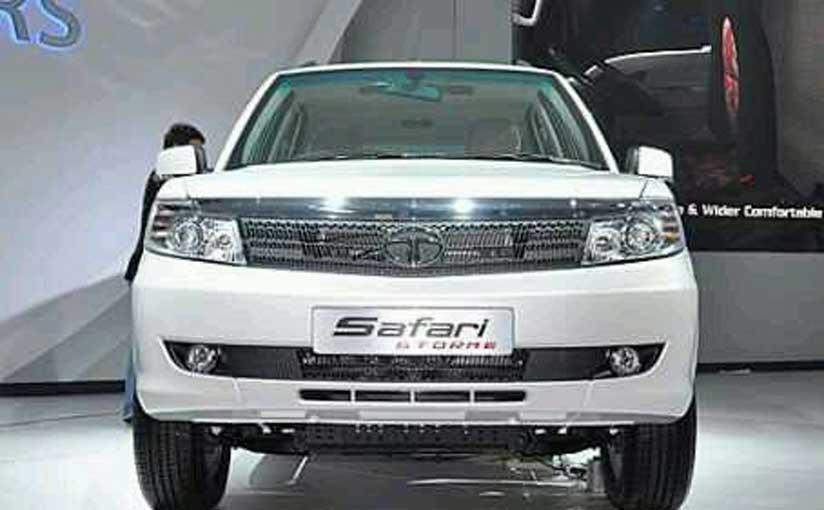 Tata Safari Storme gets a Facelift