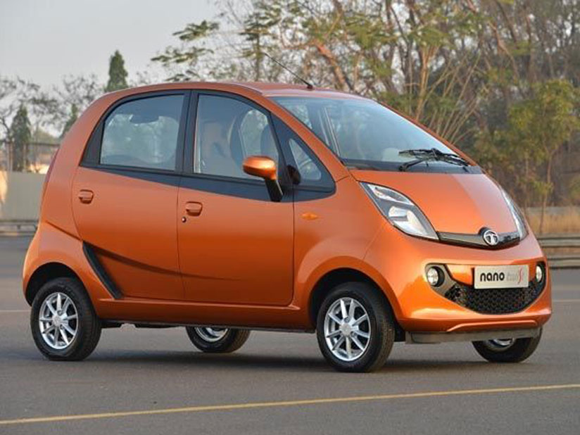 Tata Nano has a flare for being up to date