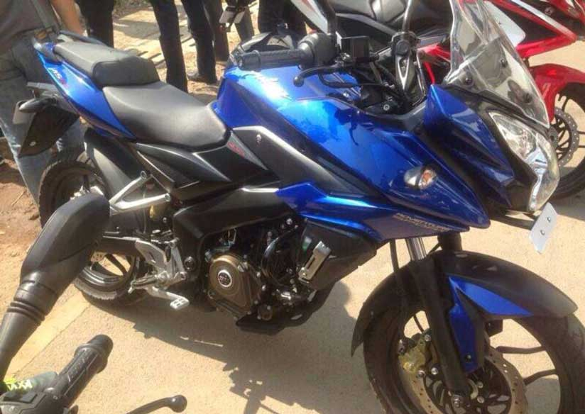 Another New Pulsar could be seen on the Indian roads