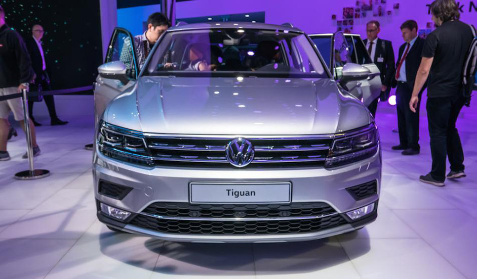 Made in India VW Tiguan out for a launch all across the world