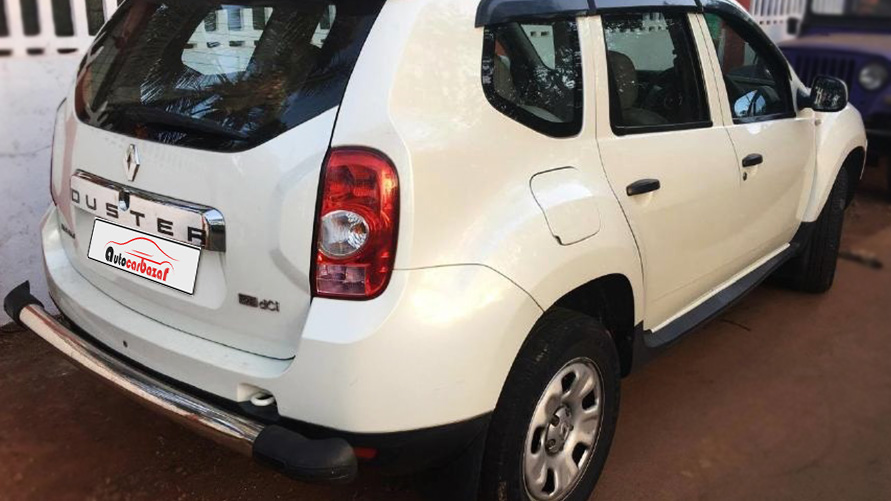 Renault Duster 85 PS RXL 4X2 MT