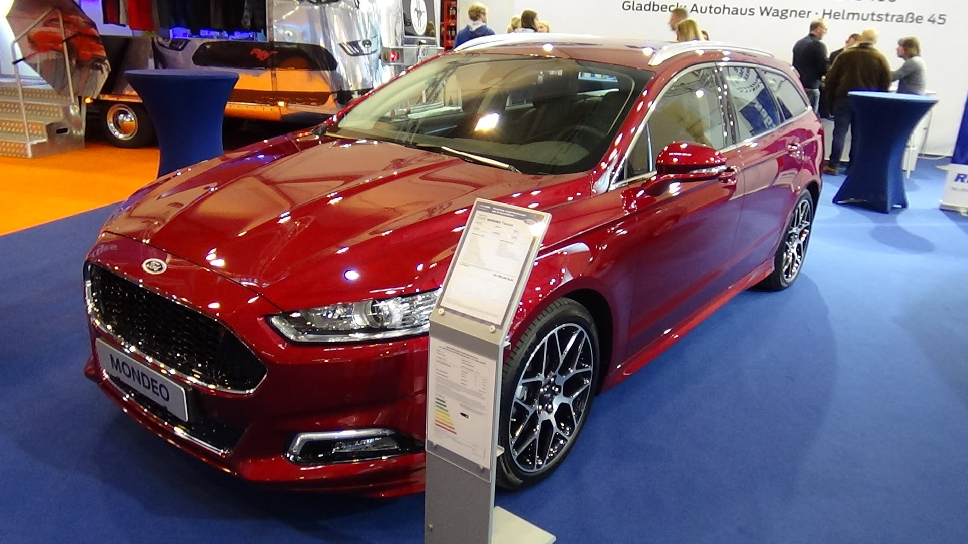 2013 Ford Mondeo Showcased at the 2013 Shanghai Motor Show