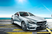 Mercedes-Benz launches new model SLK 55 AMG at Rs 1.26 crores