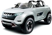 Suzuki main exhibits X-Lander in the 43rd Tokyo Motor Show 2013