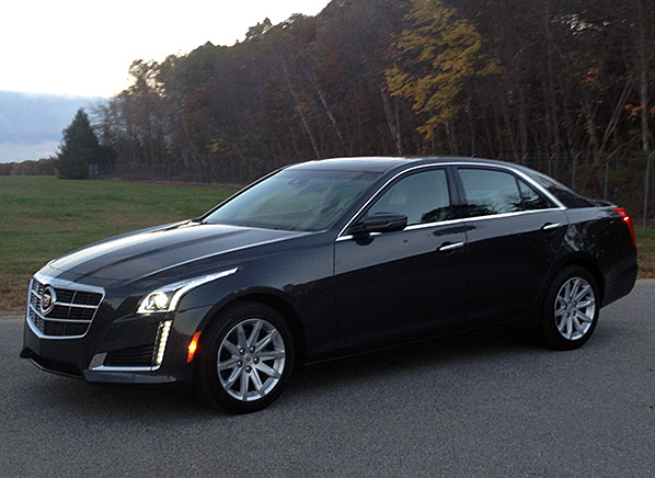2014 Cadillac CTS images leak from somewhere