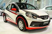 Honda Brio facelift with wing-face grille