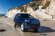 2014 JEEP Cherokee - SUV with 9 Speed Auto Transmissions