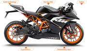 KTM will launch RC series in India at the mid 2014