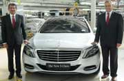 Mercedes-Benz India S-Class local assembly begins