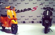 Piaggio launches Vespa S at Rs 76495