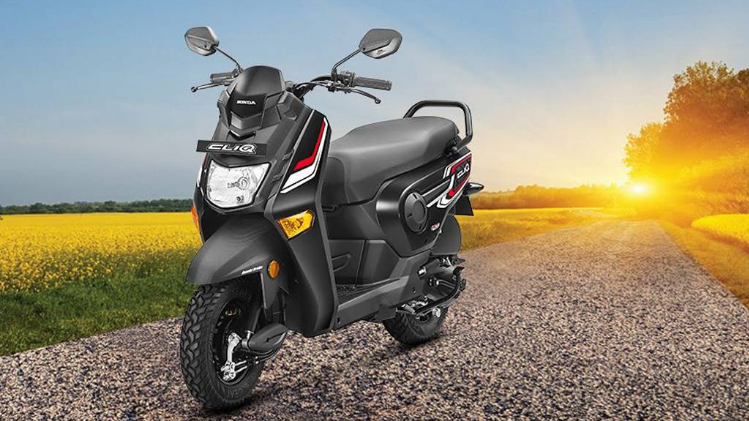 Honda Cliq Launched View Price, Specifications & Mileage