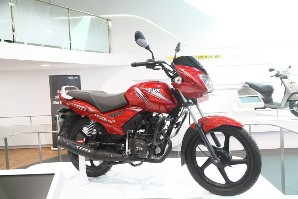 2017 TVS Star City Plus Edition Launched