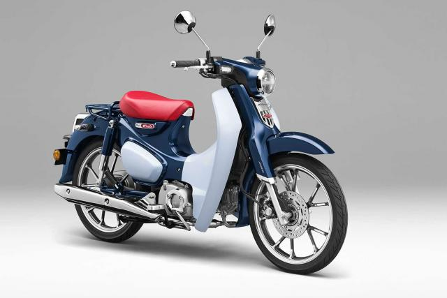 Honda Super Cub Updated Version Launched