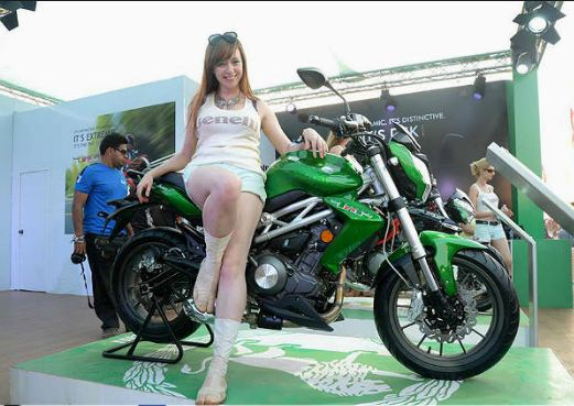 2018 DSK Benelli Leoncino Launch in India