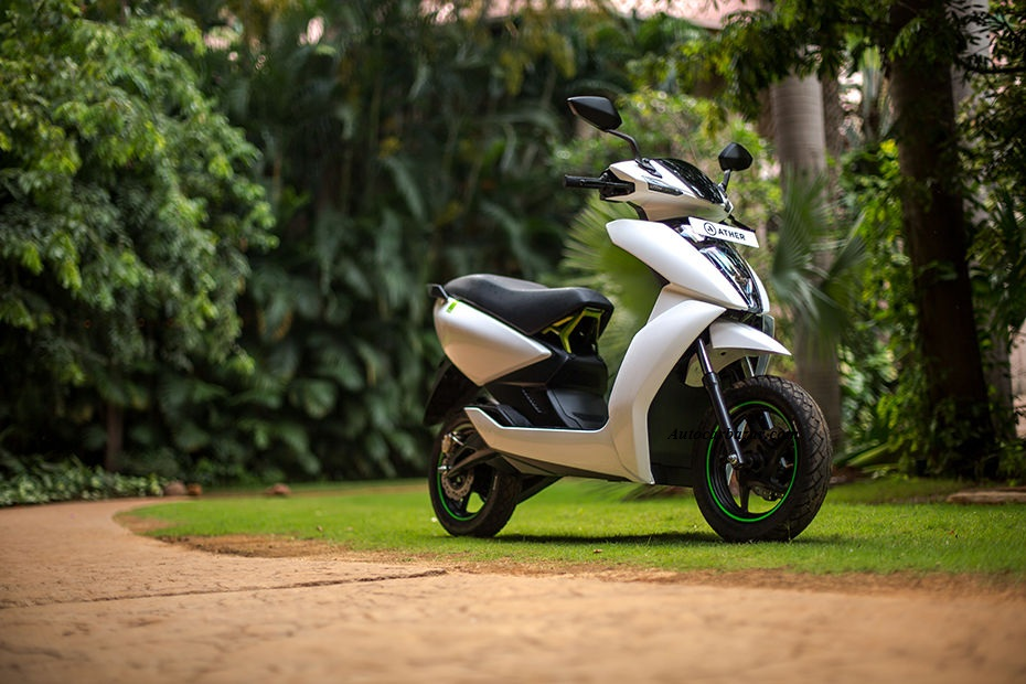 Ather E-scooter 450 & 340 launched in chennai