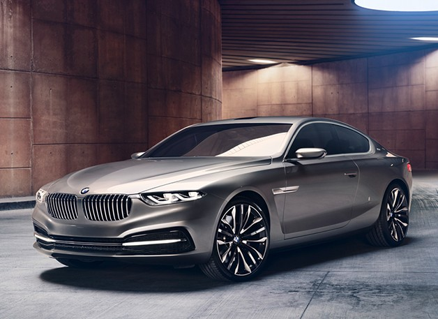 BMW hints at resurgence of luxury 8 series Gran Lusso Coupe concept unveiled