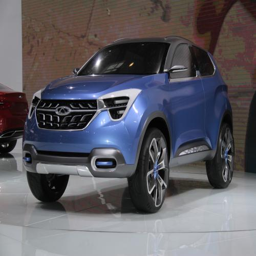 Chery Beta 5 Concept Car - The Chery Beta 5 concept is a compact SUV