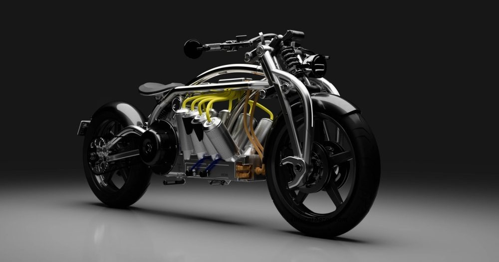 Curtiss Zeus Battery Electric Motorcycle unveils